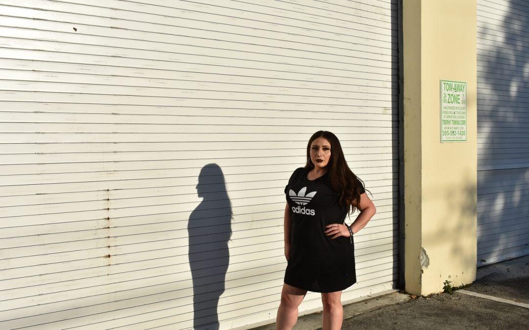Adidas T-Shirt Dress Glam