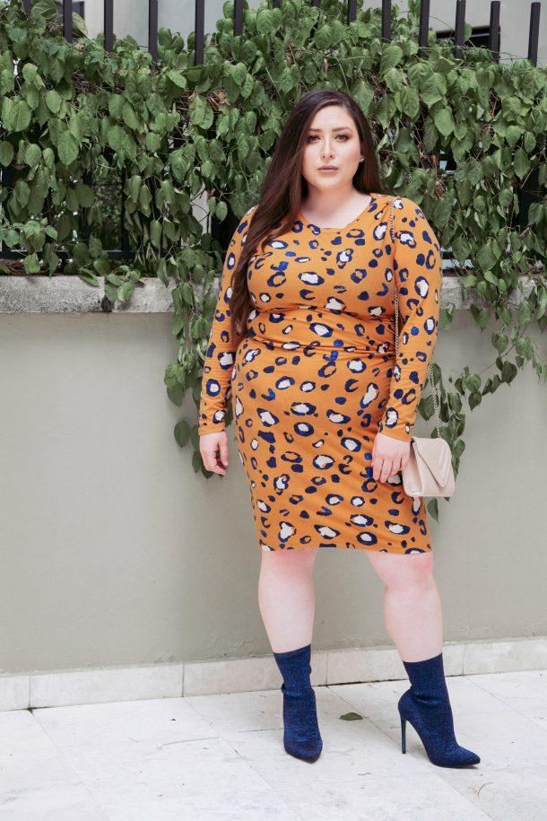 Poshmark + Phillip Lim for Target Orange Leopard Dress + Boots