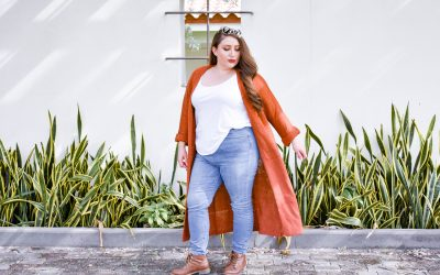 Fall Vibes + Forever 21 Long Cocoon Duster Cardigan