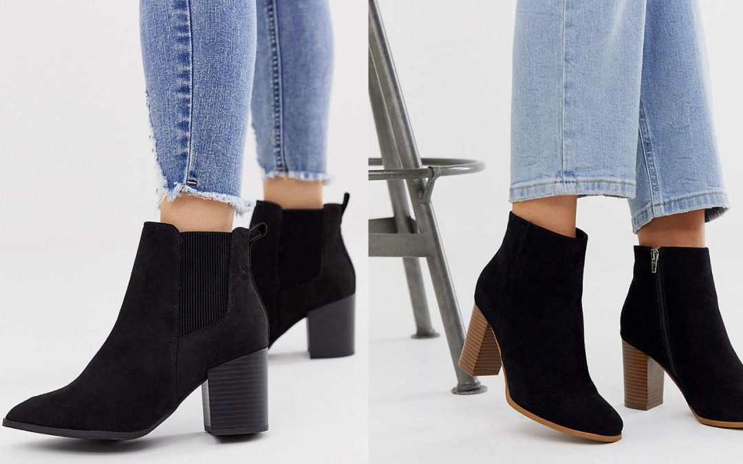 ASOS Wide Fit Booties on Sale